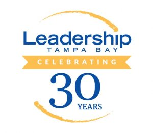 Leadership Tampa Bay 30 Year Logo