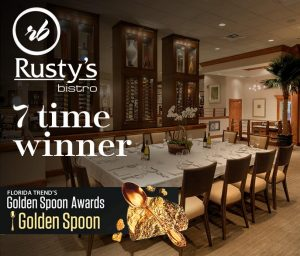 Rusty's Bistro 7 Time Golden Spoon Winner