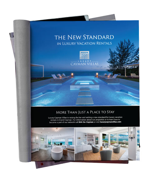 Luxury Cayman Villas Magazine Ad