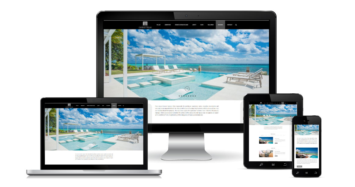 Luxury Cayman Villas Website