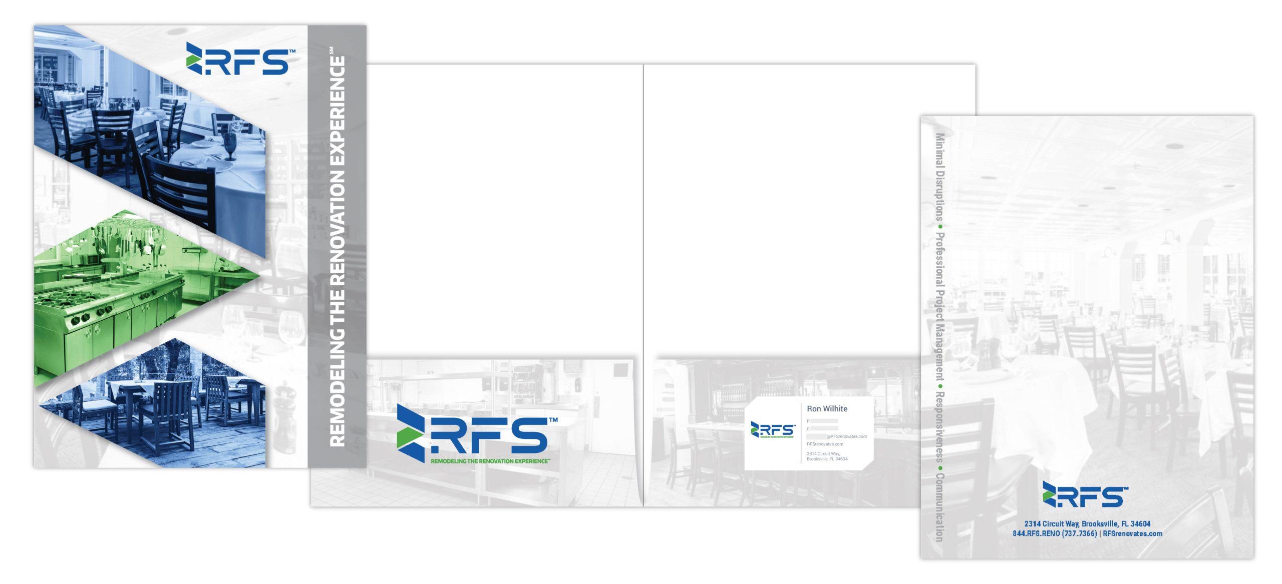 pocket folder design for RFS