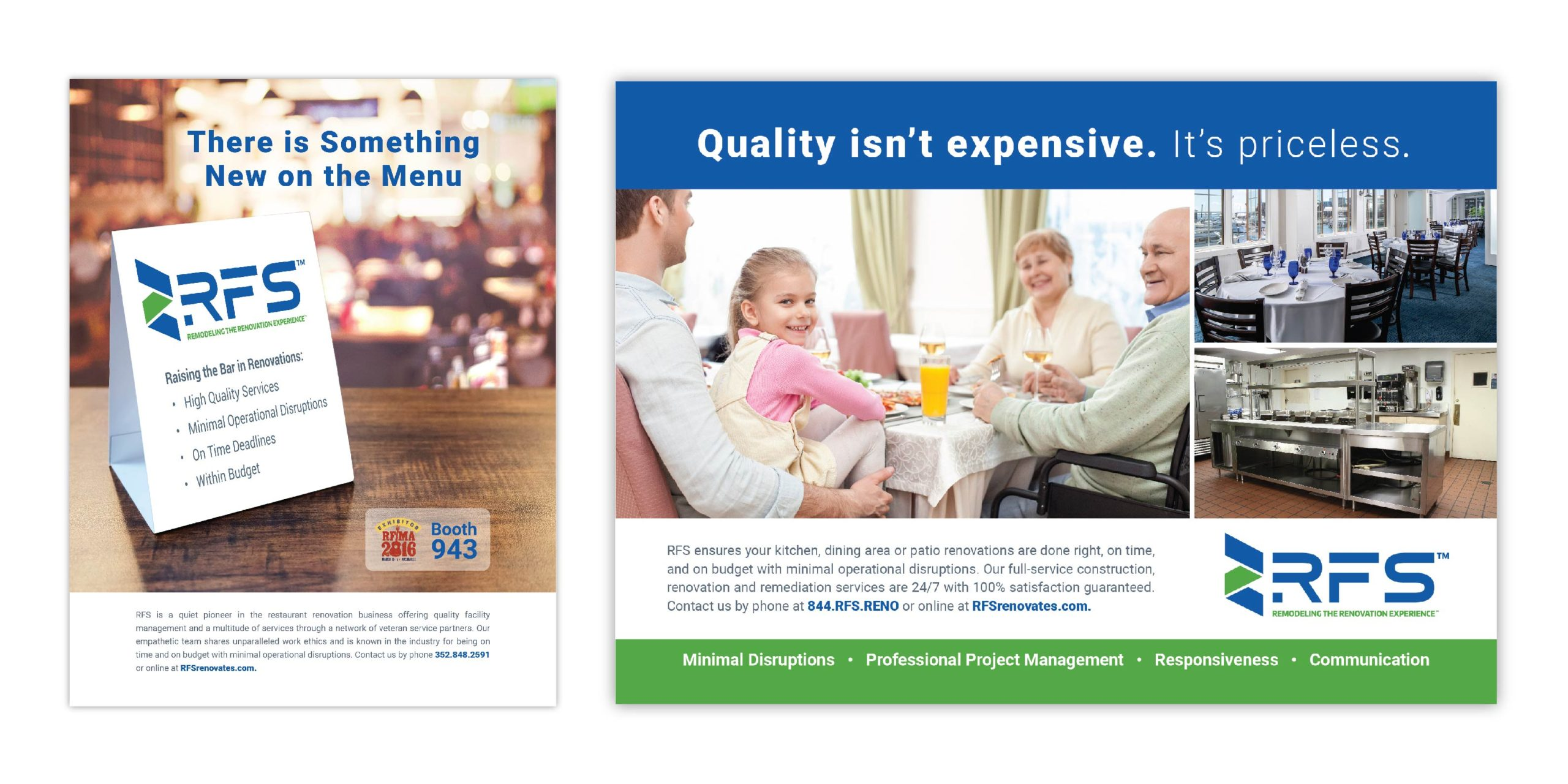 small print ads for RFS