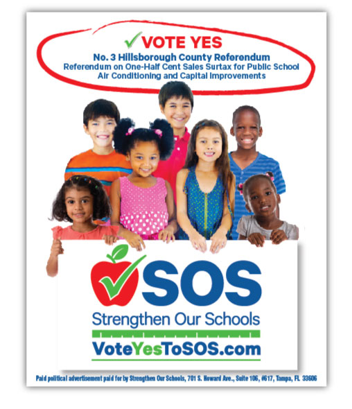 SOS Newspaper Ad