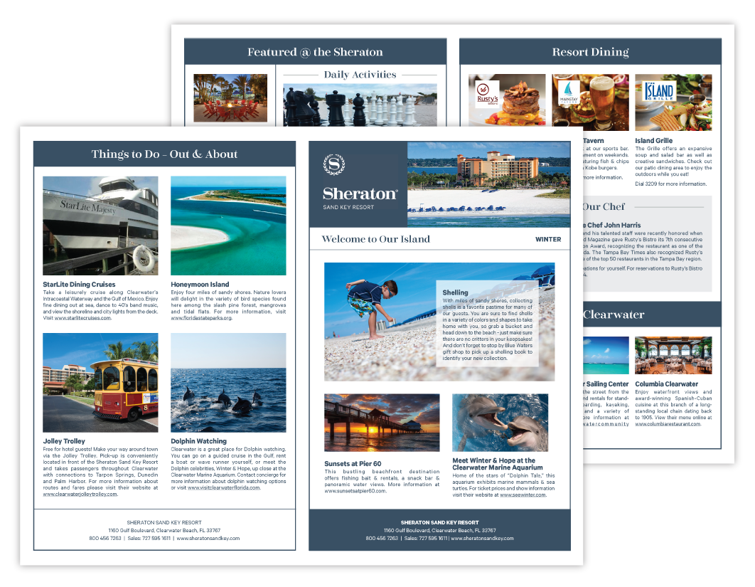 Sheraton Sand Key Newsletter