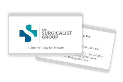 The Surgicalist Group Business Cards
