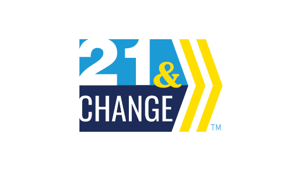 21 and Change Logo